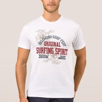 Camiseta Mistura americana do roupa dos homens do surf do