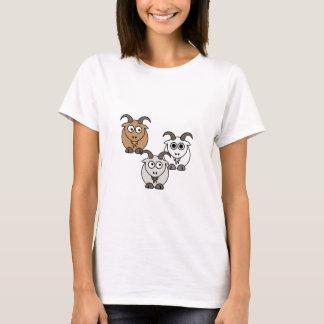 Camiseta Mistura da cabra