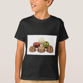 Camiseta Mistura de doces de chocolate