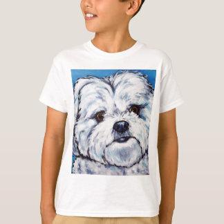 Camiseta Mistura de Shih Tzu