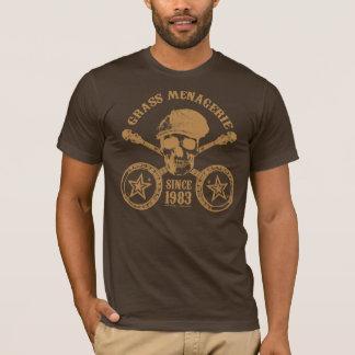 Camiseta Mistura variada da grama (ouro)