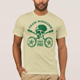 Camiseta Mistura variada da grama (verde)