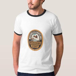 Camiseta Mitchells & mordomos que nutrem a cerveja de malte