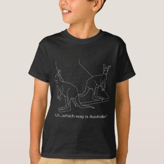 Camiseta Mito da inundação da arca de Noah do canguru