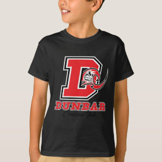 Camiseta Miúdo carmesim do orgulho da maré de Dunbar