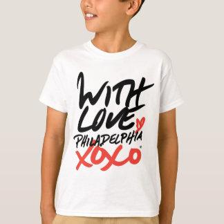 Camiseta Miúdo com amor, t-shirt de Philadelphfia XOXO