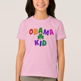 Camiseta Miúdo de Obama do irlandês