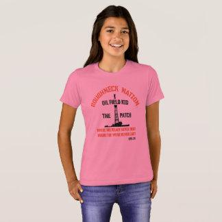 Camiseta MIÚDO do CAMPO PETROLÍFERO o remendo