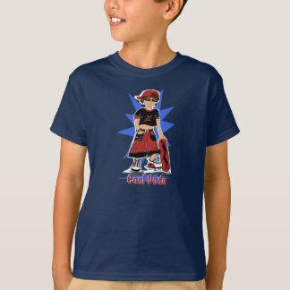 """Camiseta Miúdo do conselho do skate com """"logotipo do gajo"""