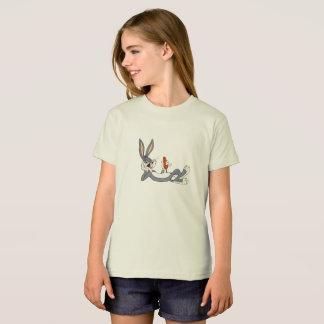 Camiseta miúdo do t-shirt dos desenhos animados