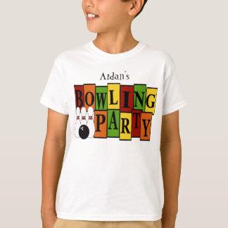 Camiseta Miúdo feito sob encomenda da festa de aniversário