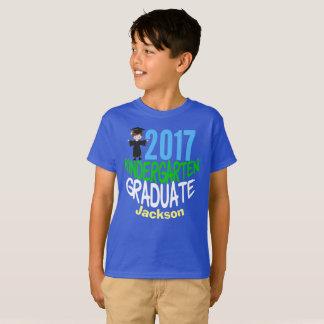 Camiseta Miúdos 2017 feitos sob encomenda graduados do