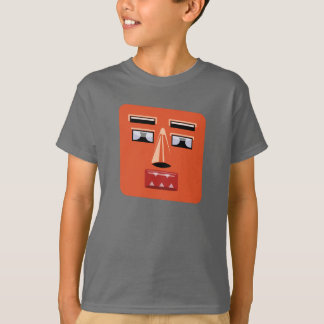 Camiseta Miúdos da cara V1 do robô