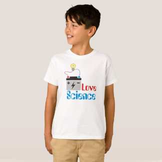 Camiseta Miúdos da ciência do amor