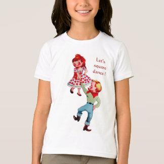 Camiseta Miúdos da dança quadrada