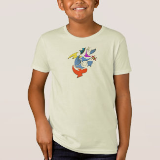Camiseta miúdos da natureza da baía do buda