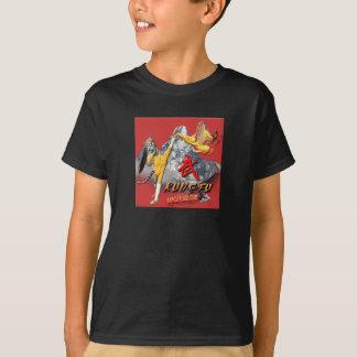 Camiseta Miúdos de Kung Fu