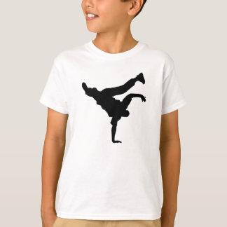 Camiseta miúdos do breakblk