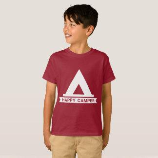 Camiseta Miúdos do campista feliz