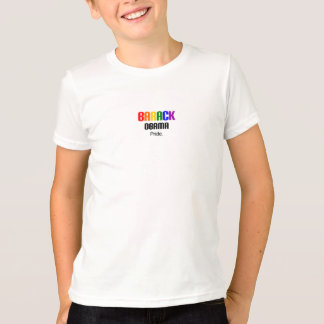 Camiseta Miúdos do orgulho de Barack Obama