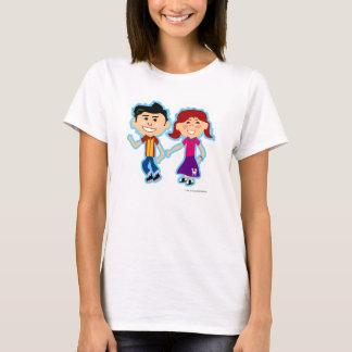 Camiseta Miúdos do salto da peúga