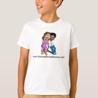 Camiseta miúdos eu sou incentivado, iluminado e autorizado