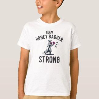 Camiseta Miúdos fortes do texugo de mel