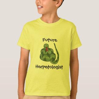 Camiseta Miúdos futuros bonitos do amante do cobra do