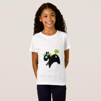 Camiseta Miúdos impressos do Tshirt de Lil dos desenhos