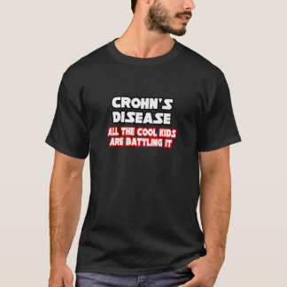 Camiseta Miúdos legal da doença de Crohn…