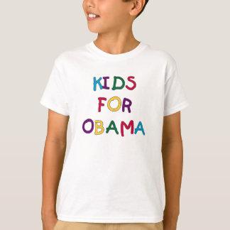 Camiseta Miúdos para Obama