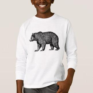 Camiseta Miúdos por muito tempo Sleeved de passeio do T do