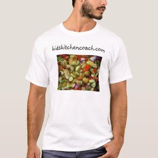 Camiseta miúdos que cozinham o treinador