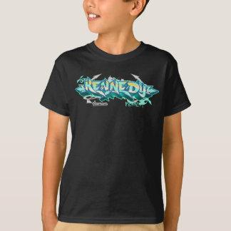 Camiseta Miúdos Streetwear: Grafites de Kennedy