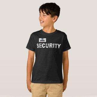 Camiseta Miúdos T da segurança da loja de Geek, Inc.