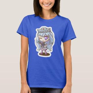 Camiseta Miyou (azul da enfermeira)