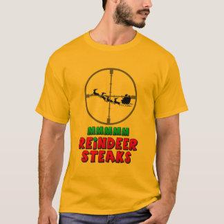Camiseta Mmmm bifes da rena