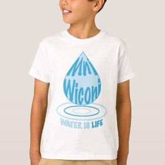 Camiseta Mni Wiconi/água é vida