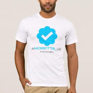 Camiseta @MoBetta_42 - Verificado