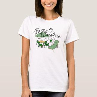 Camiseta Mobília do Rissol-o, chalaça do dia de St Patrick