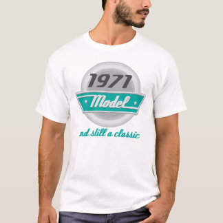 Camiseta Modelo 1971 e ainda um clássico