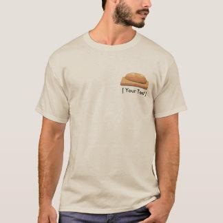 Camiseta Modelo cozido do t-shirt da areia dos homens do