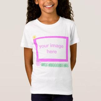 Camiseta Modelo da foto do t-shirt do miúdo