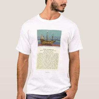 Camiseta Modelo de Mayflower