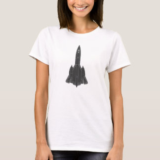 Camiseta Modelo do melro de Lockheed SR-71