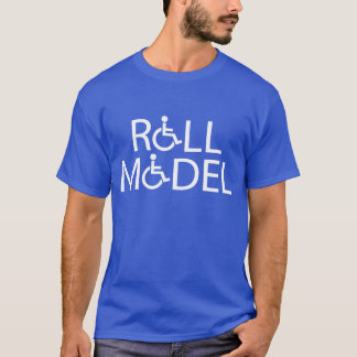 Camiseta Modelo do rolo