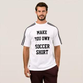 Camiseta Modelo do T-SHIRT do FUTEBOL dos homens