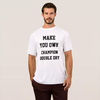 Camiseta Modelo do T-SHIRT dos ESPORTES dos homens