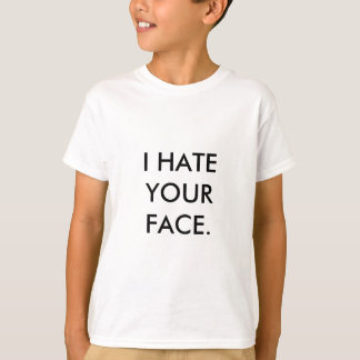 Camiseta Modelo do vertical do t-shirt dos miúdos