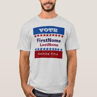 Camiseta Modelo feito sob encomenda da campanha
